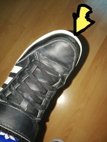 Wie ist es möglich den Schuh zu reparieren?
