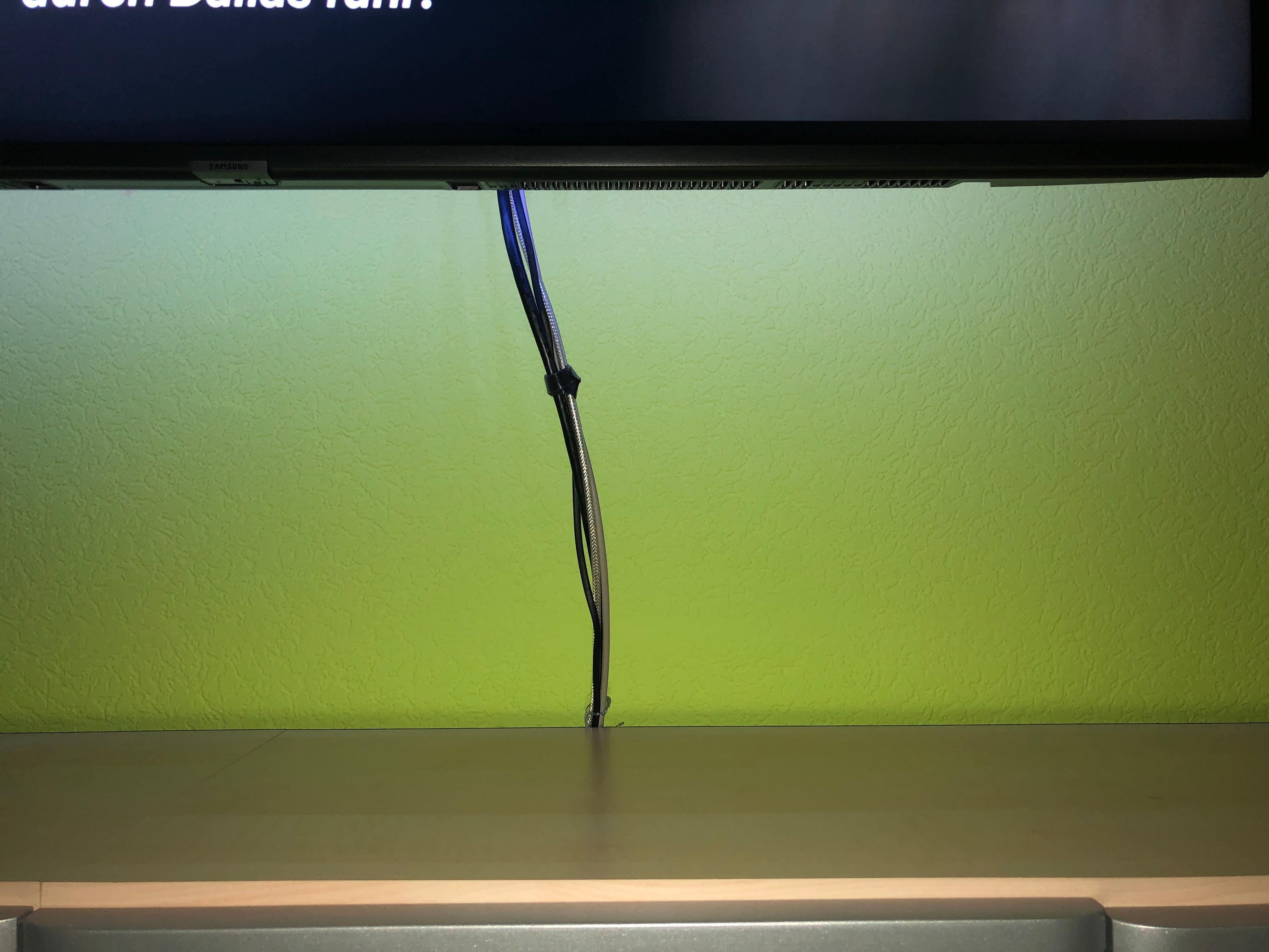 Wie Kabel Zum Fernseher Verstecken Computer Technik Technologie