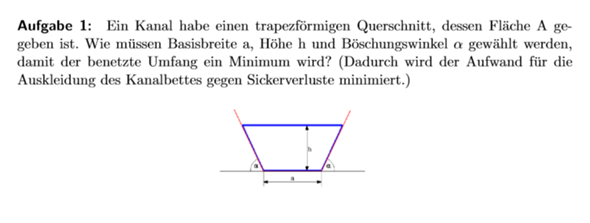 Wie kann diese mehrdimensionale Analysisaufgabe angefangen werden?