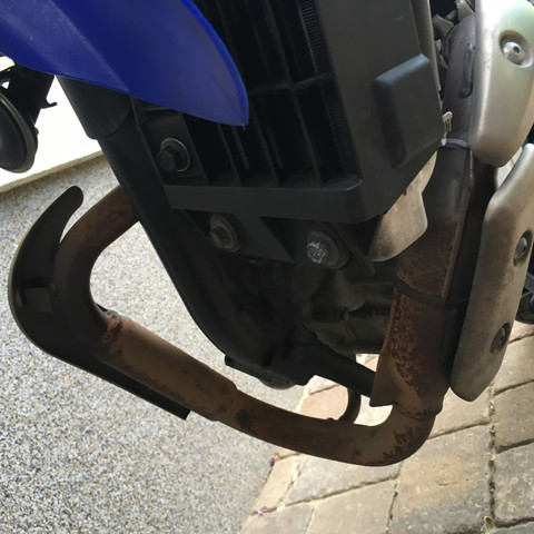Bild - (Motorrad, Auto und Motorrad, rost entfernen)