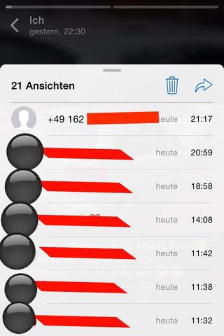 Whatsapp blockierter kontakt sieht status