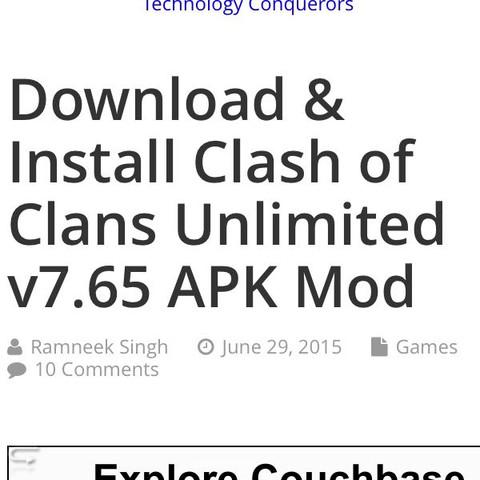 Ich habe einen Screenshot davon gemacht ! - (Download, clash of clans)