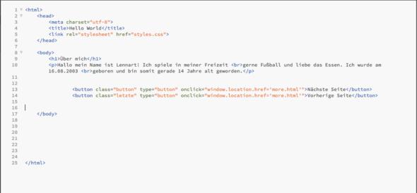 1. - (html, CSS, positionieren)