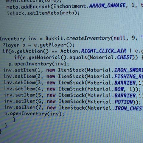 Hier :) - (bukkit, Spigot, plugins programmieren)