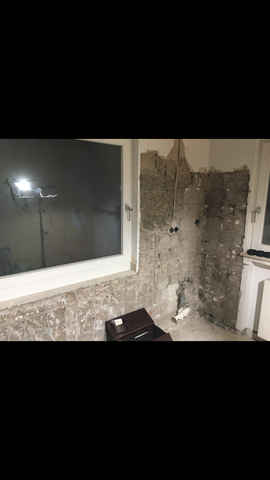 wie kann ich am besten eine wand ausbessern au enmauer haus fassade hausrenovierung. Black Bedroom Furniture Sets. Home Design Ideas