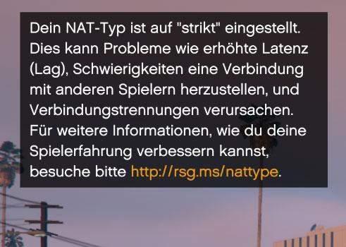 Wie kann ich am PC den NAT Typ ändern?