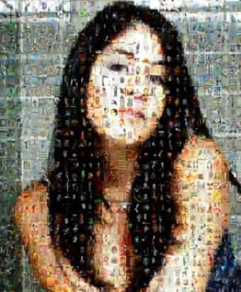 bild aus bildern mosaik mac