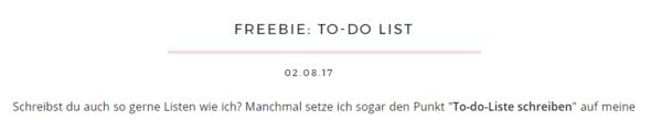 Blog-Unterstrich - (html, Blog, Tutorial)