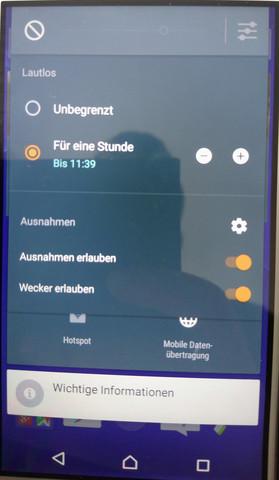 Android 6 Ausnahmen - (Handy, Android, Sony)