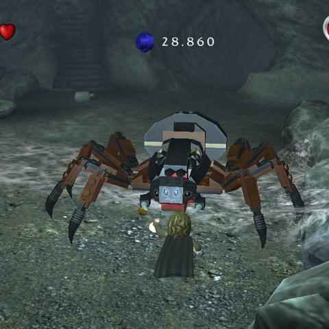Spinne Kankra - (Lego, Herr der Ringe, Spinne)
