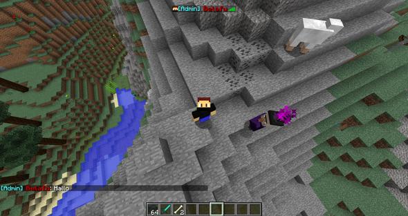 Wie Kann Ich Bei Minecraft Im Chat Den Prefix Haben In Der Tabliste - Minecraft spielen im lan