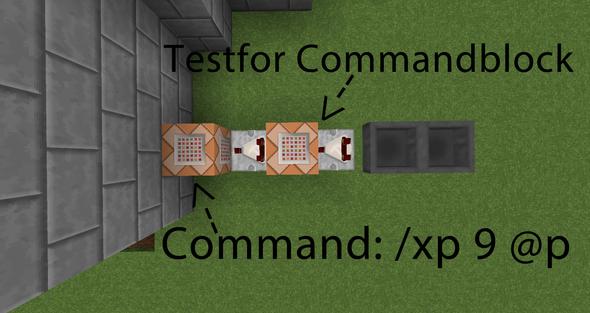 Aufbau der Maschine  - (Games, Minecraft, Commandblock)