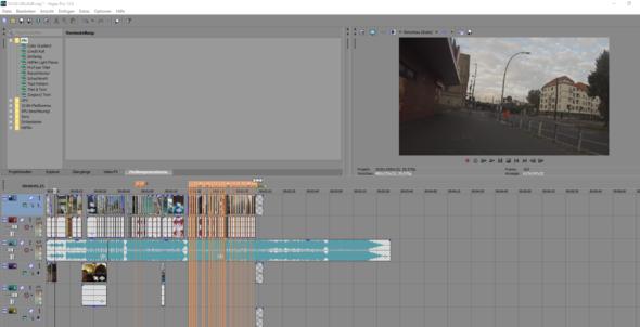 Hier das Video, sehr viele kleine Teile  - (schneiden, Sony Vegas, Schnittprogramm)