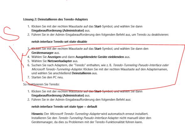 Ich habe überhaubt keinen Teredo Treiber  - (Netzwerk, Windows 10, Treiber)