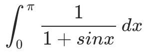 Wie kann ich das folgende Integral lösen?