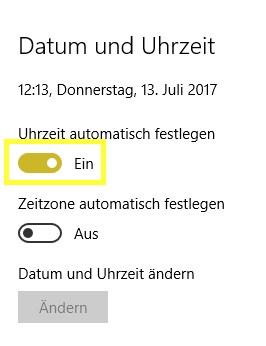 System-Datum ändern - (Computer, PC, Programm)
