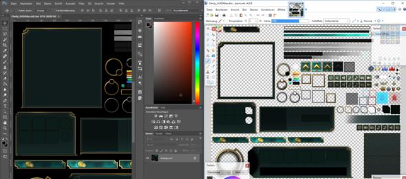Vergleich von Photoshop und Paint.Net - (Photoshop, Hintergrund, Plug-in)