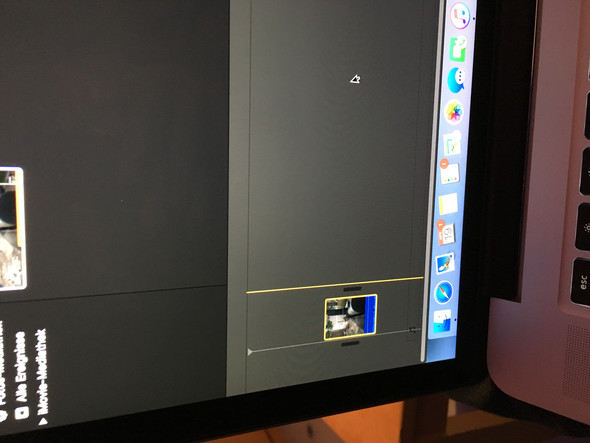 Wie kann ich den Clip bei iMovie länger ziehen und kürzen?
