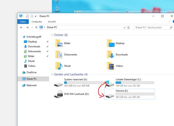 möchte wechseln ... - (Computer, Windows)
