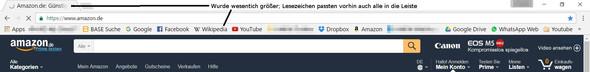 Darstellung Chrome - (Größe, Chrome, darstellung)
