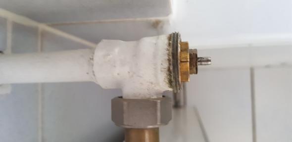 Heizung ventil klemmt
