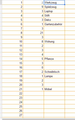 Tabelle - (Excel, Formel, google-tabellen)