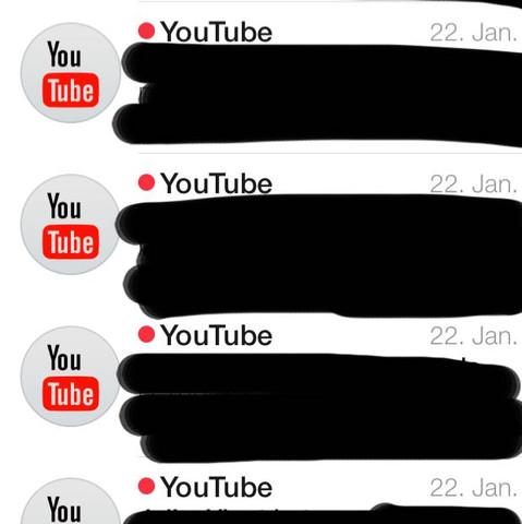 Wie Kann Ich Die Ständigen Youtube E Mails Benachrichtigungen