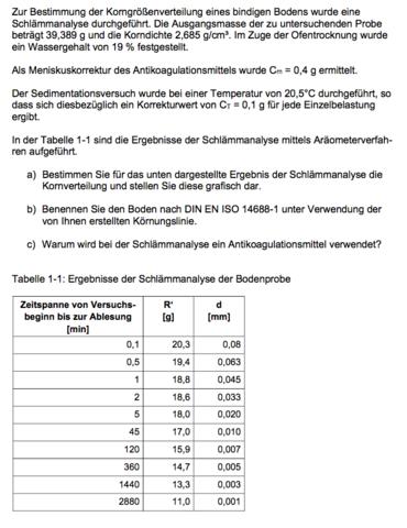 Aufgabenstellung - (Studium, Gentechnik)