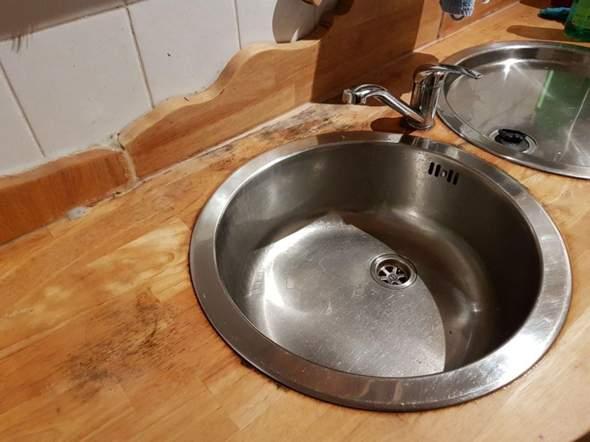 Wie kann ich diese Küchenarbeitsplatte retten?