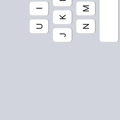 Vielleicht könnt Ihr es sehen   - (Tastatur, iPad, ios)