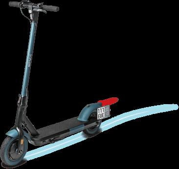 Wie kann ich E-Scooter vorm Supermarkt abstellen?