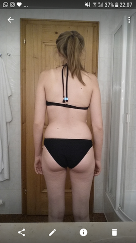 Für die Leute die glauben das es nicht möglich ist -.-  bei einem BMI von 21  - (Sport, Ernährung, Frauen)