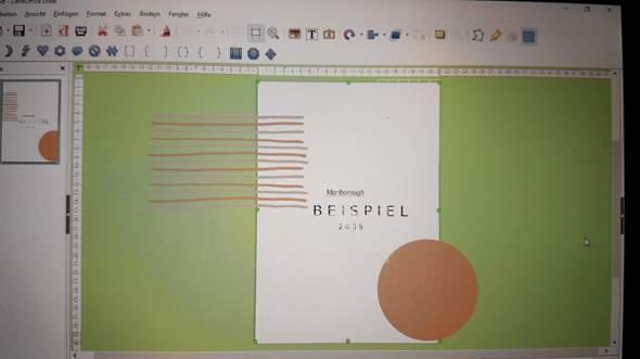 Wie kann ich ein externes Hintergrund-Design in LibreOffice einfügen?