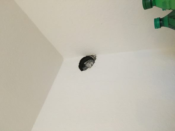 Wie kann ich ein nicht verwendetes rohr für die dunstabzugshaube