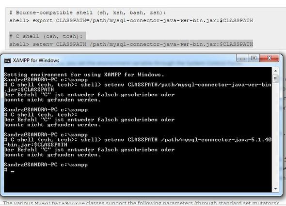 Classpath ändern - (programmieren, Datenbank, MySQL)