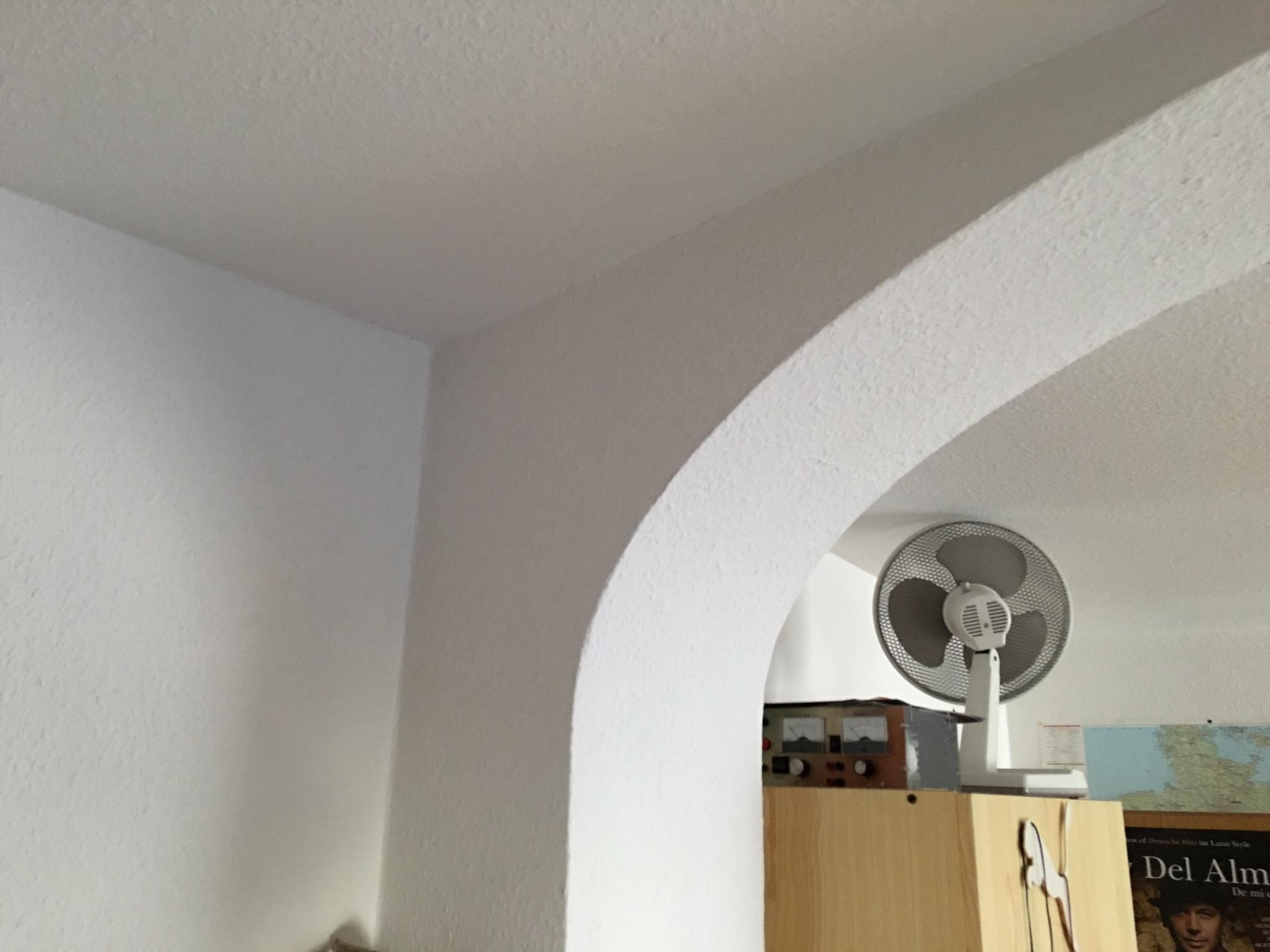 wie kann ich einen rundbogen in meiner wohnung verschlie en heimwerken architektur. Black Bedroom Furniture Sets. Home Design Ideas