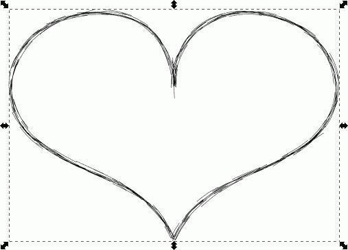 Herz nachher - (zeichnen, Gimp, Paint.net)