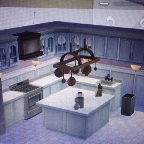 Da sind die Hängeschränke - (Küche, Sims, Thema)
