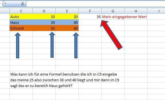 Kan jemand mit diesem Problem behilflich sein? - (Excel, Wert, zuorden)