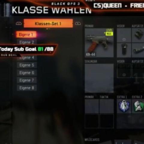 Wie kann ich in Call of Duty Bo3 8Klassen in ein Set Rhein tun habe mir Mit Kryptos Klassen Set gekauft?