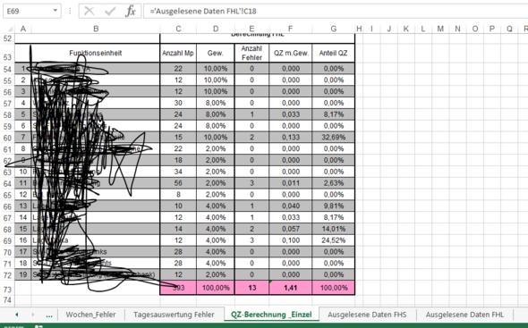 Bild (Teile Bezeichnungen unkenntlich gemacht) - (Excel, EDV, VBA)