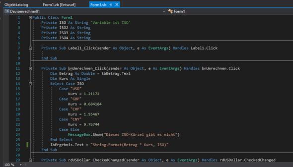 Quellcode Teil 1 - (Computer, Windows, programmieren)