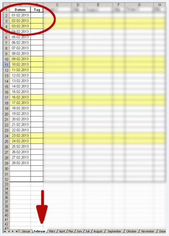 Beispiel Excel  - (programmieren, Microsoft, Excel)