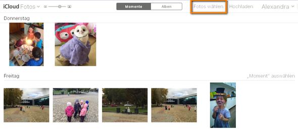 ICloud von einem fremden Screenshot - (Apple, Foto, icloud)