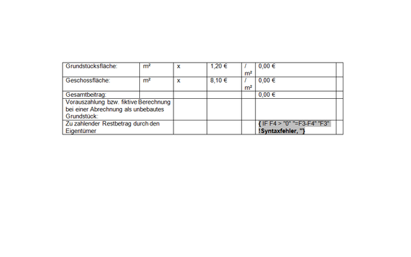 Word Rechnung - (Word, Office, Formel)