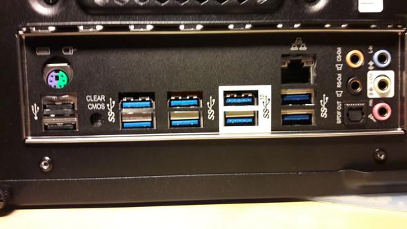die usb Ports - (PC, Mainboard, USB)