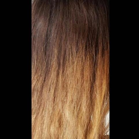 Blonde haare retten