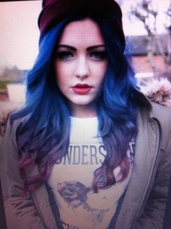 Variante 1 - (Haare, Haarfarbe, färben)