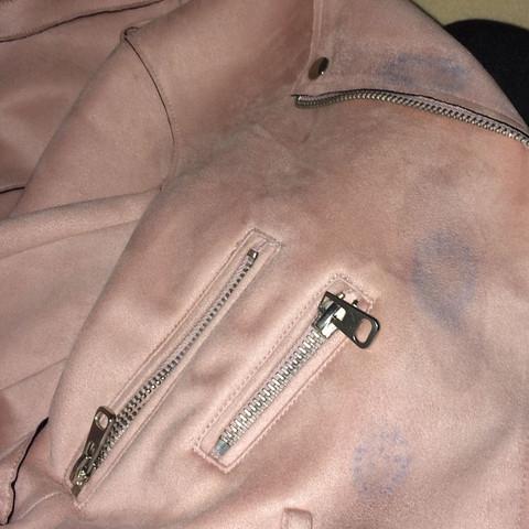 Zara basic jacke rosa