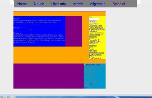 Screenshot - (html, CSS, Wordpress)